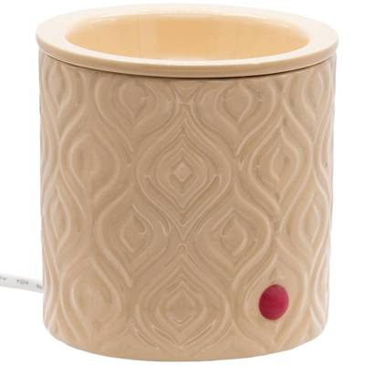 Faso Electric scented wax burner with removable bowl - Beige