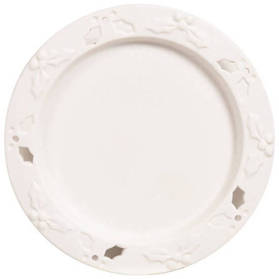 Candle Brothers ceramic candle tray - Holly