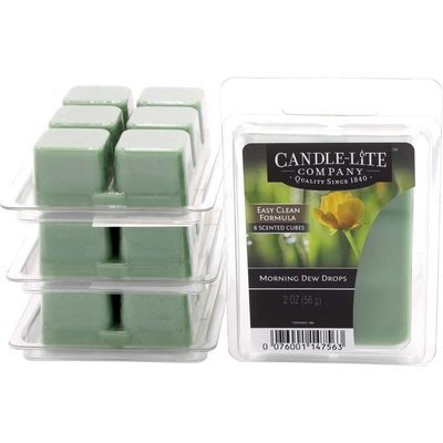 Candle-lite Everyday Collection Highly Fragranced Wax Cubes 2 oz intensywny wosk zapachowy kostki 56 g ~ 60 h - Morning Dew Drops